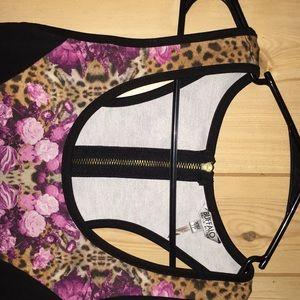Buffalo David Bitton Dresses - Buffalo David Bitten fitted tank top party dress